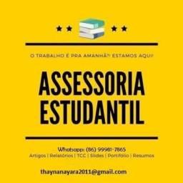 Ajuda com Trabalhos acadêmicos