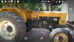 Trator Valmet 85 série ouro c/ direção hidráulica