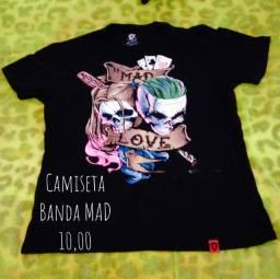 Camiseta Banda Mad Tam. M