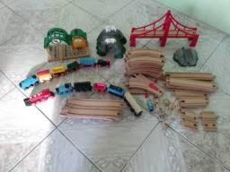 Ferrorama top em madeira 55 peças