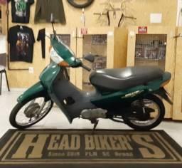C100 Biz revisada em garantia troco moto
