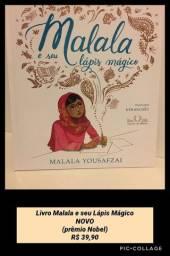 Livro Malala e seu Lápis Mágico NOVO