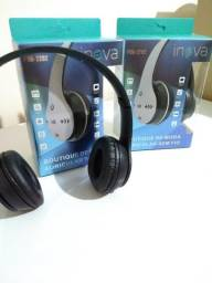 Fone Bluetooth inova Fon-2202 com Microfone e Rádio Digital