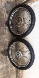 Roda de ferro completa