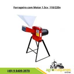 Frete Grátis - Forrageiro Picador Triturador c/ Motor 1,5cv Monofasico