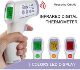 Termômetro Laser Digital Infravermelho Febre De Testa Bebe