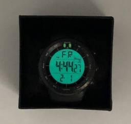Relógio Esportivo Masculino Digital Preto Sport Watch à Prova Dágua Produto Novo