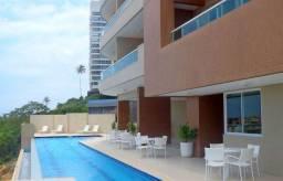 Apartamento 1 Quarto Patamares Terrazo Salvador 61m2 vista mar Decorado Nascente
