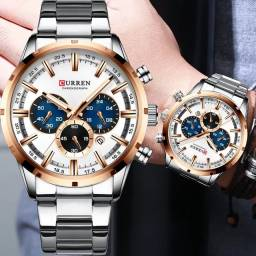 Relógio masculino original Curren de qualidade incrível