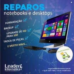 Reparo ? Assistência ? Netbook ? Notebook ? Desktop ? Tela azul