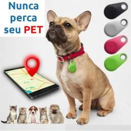 Rastreador Smart Bluetooth Gps Antiperda Para Pets Cães Gatos Chaves