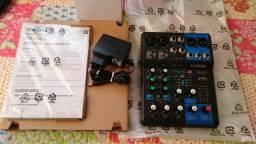 Mesa de som 6 canais Yamaha mg06x