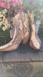 Bota Cowboy, Dumond pele de cobra.