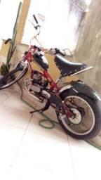 Bicicleta chopper motorizada $ 2.000,