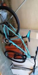 Bike aro 29 ksw quadro 19 semi nova