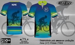 Camisetas de ciclismo Personalizadas - Personalize com sua marca, logotipo e nome!