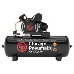 Chicago Pneumatic Cpv 20 200 Litros - Ate 6x Cartão