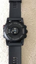 Relógio Fenix 3 Hr titanium safira