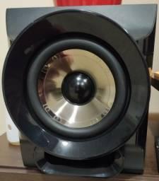 Mini System 1100w - Philco Com Rádio Fm - Ph1100