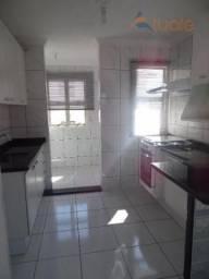 Apartamento com 2 dormitórios para alugar, 48 m² por R$ 910,00/mês - Parque Villa Flores (