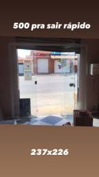 Vendo portas de vidros novas pra sair rápido !!!