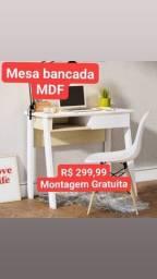 Título do anúncio: bancada escrivaninha em MDF novas montagem gratuita