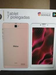 """Tablet Philco 7"""" Rose Gold 16GB wi-fi bluetooth NOVO LACRADO + NF GARANTIA 1 ANO"""