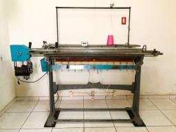 Máquina tricô industrial motorizada