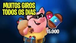 Coin Master Venda de Giros 1,00