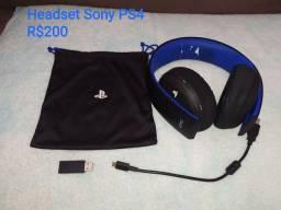 Headset Sony PS4 GURUPI TO
