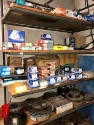 Lote pastilhas e discos de freio