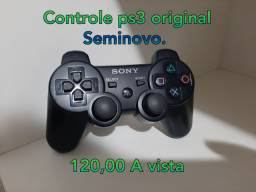 Controle Ps3 Seminovo Original - Aceito Cartão!!!