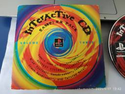 Para colecionadores - Interactive CD Sample Pack Volume 3 original PS1