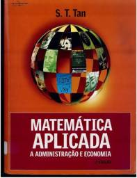 Livro Matemática aplicada à administração e economia.