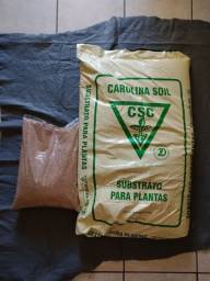 Kit Saco Carolina Soil 8kg + Vermiculita 10 L + Manta Bidim (retirar)