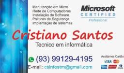 Manuteção em micro e Notebook