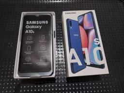 Samsung A10s NOVO SEM USO