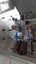 Estante vidro