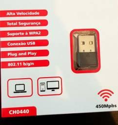 Adaptador Wifi internet sem fio