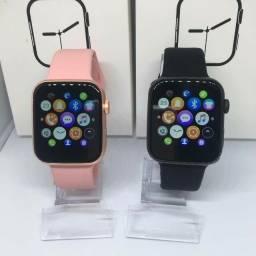Smartwatch Relógio X8-Fundo com fotos personalizadas,passa musica, notificação do WhatsApp