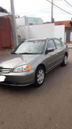 Honda Civic 2002 Completo Com GNV