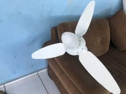 ventilador de teto com luminaria