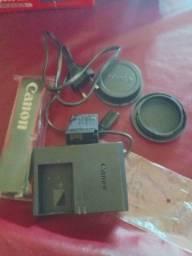 Câmera canon eos rebel sl3 4k com Lente 18-55mm is stm, nova, na caixa