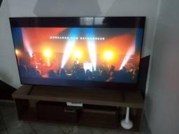 rack e tv Samsung 2020 de 75polegadas
