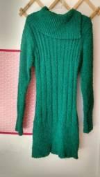Vestido de tricô M
