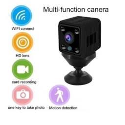 Mini câmera espiã Wifi HD com bateria/Gravação e transmissão
