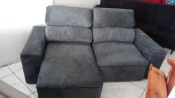 Sofá retrátil reclinável para pronta entrega novo!!!!