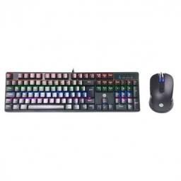 Título do anúncio: kit teclado e mouse gaming mechan  preto