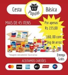 CESTA BÁSICA POPULAR COM ENTREGA GRÁTIS