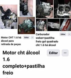 Motor cht 1.6 há álcool completo